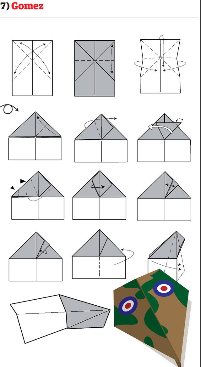 Как сделать самолет из бумаги крутой самолет